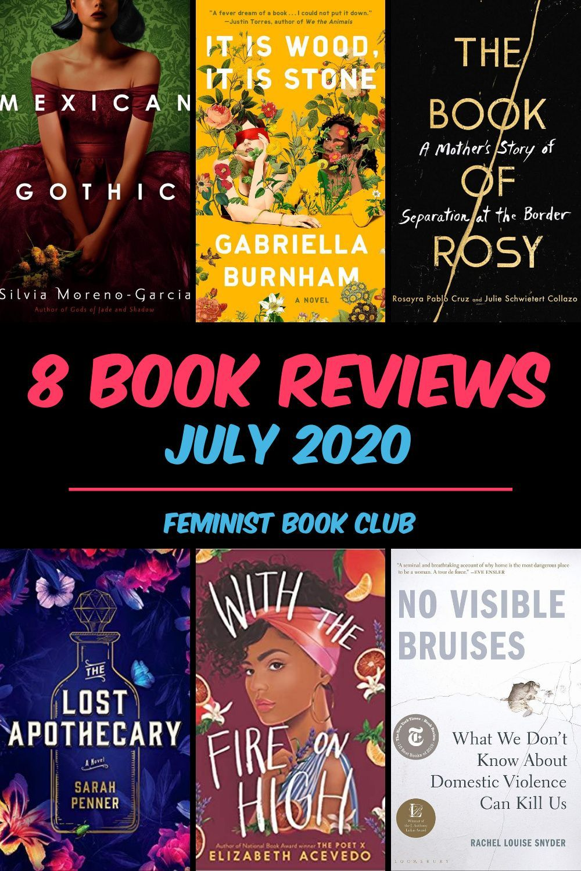 July 2020 book reviews feminist book club in 2020