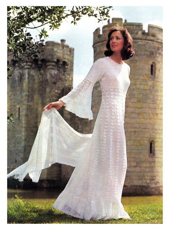 CROCHET Wedding Dress Pattern - Crochet Wedding Gown Dress PDF ...