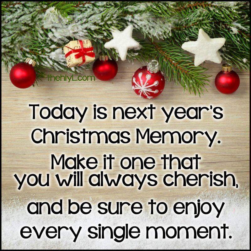 Christmas quote via www.Facebook.com/TreasuredSentiments | Cards ...