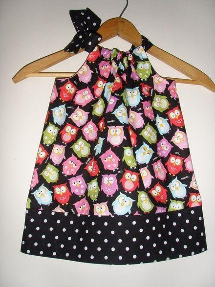 SALE normally Owl Pillowcase dress available in size xx small 3 to 9 months xsmall 9 to 24 months & VESTIDOS PARA NIÑAS - Maracaibo - Infantil - produtos | Vestidos ... pillowsntoast.com