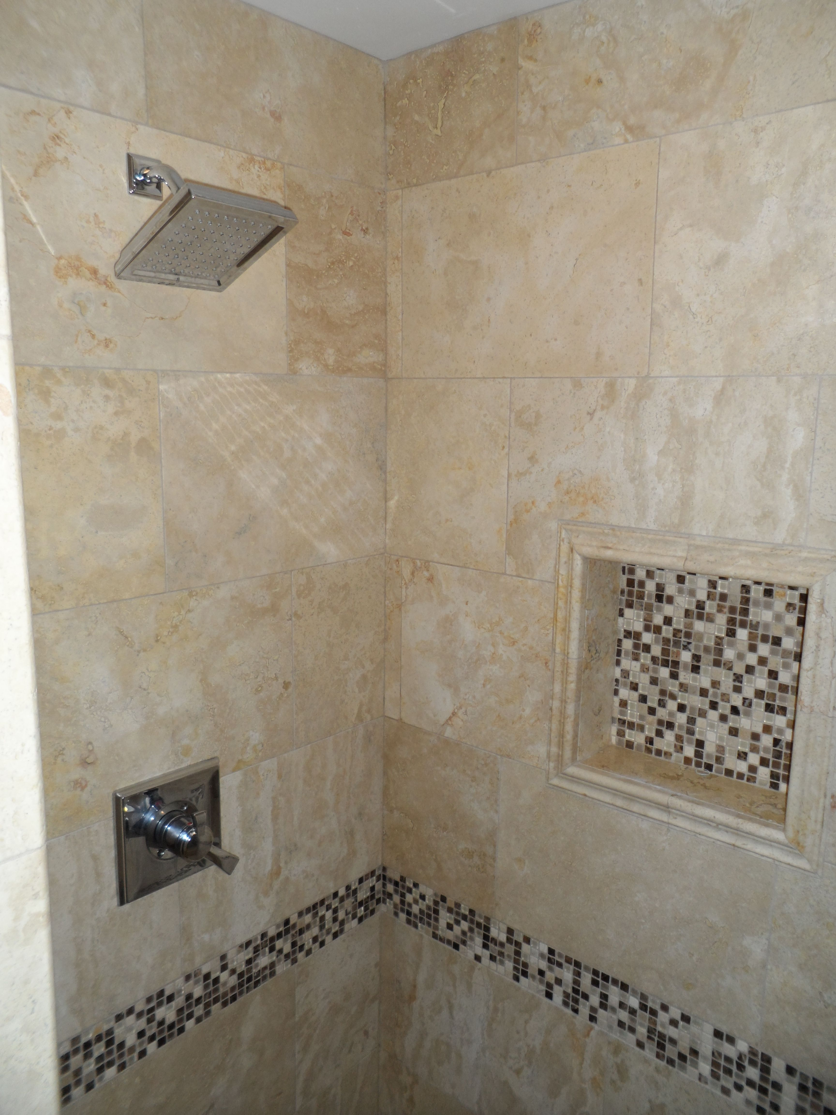 how big soap niche for tile shower - Google Search | Bathroom ...