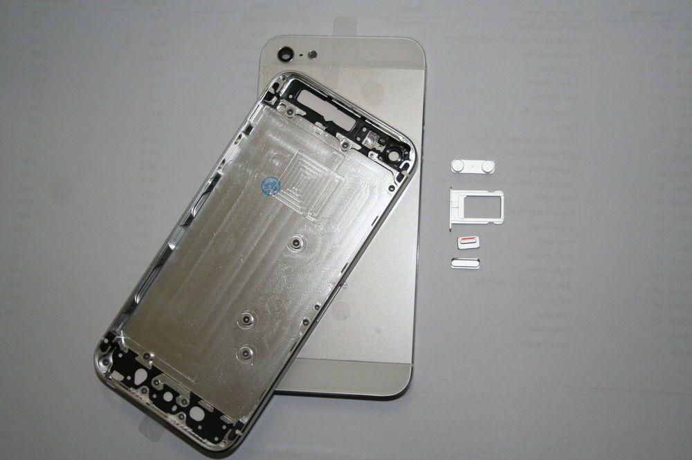 Original Apple Iphone 5 Gehause Akkudeckel Rahmen Cover Schale Hulle Weiss Neu Apple Handys Apple Iphone Iphone 5