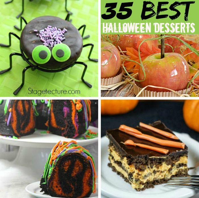 35 of Our Best Halloween Desserts Recipes - Halloween desserts - halloween party treats ideas