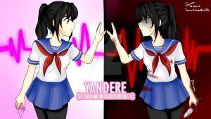Be My Yandere W Speedpaint Yandere Simulator Yandere Yuno Gasai