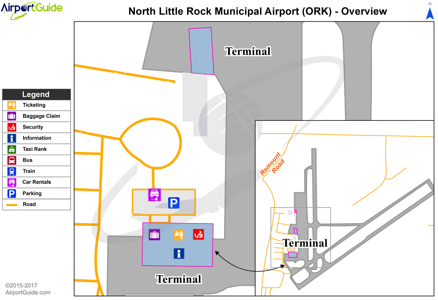 Cork Cork ORK Airport Terminal Map Overview Airport Terminal