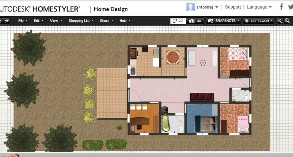 Homestyler 3d Floor Planner Home Design Software Floor Planner Design Your Home