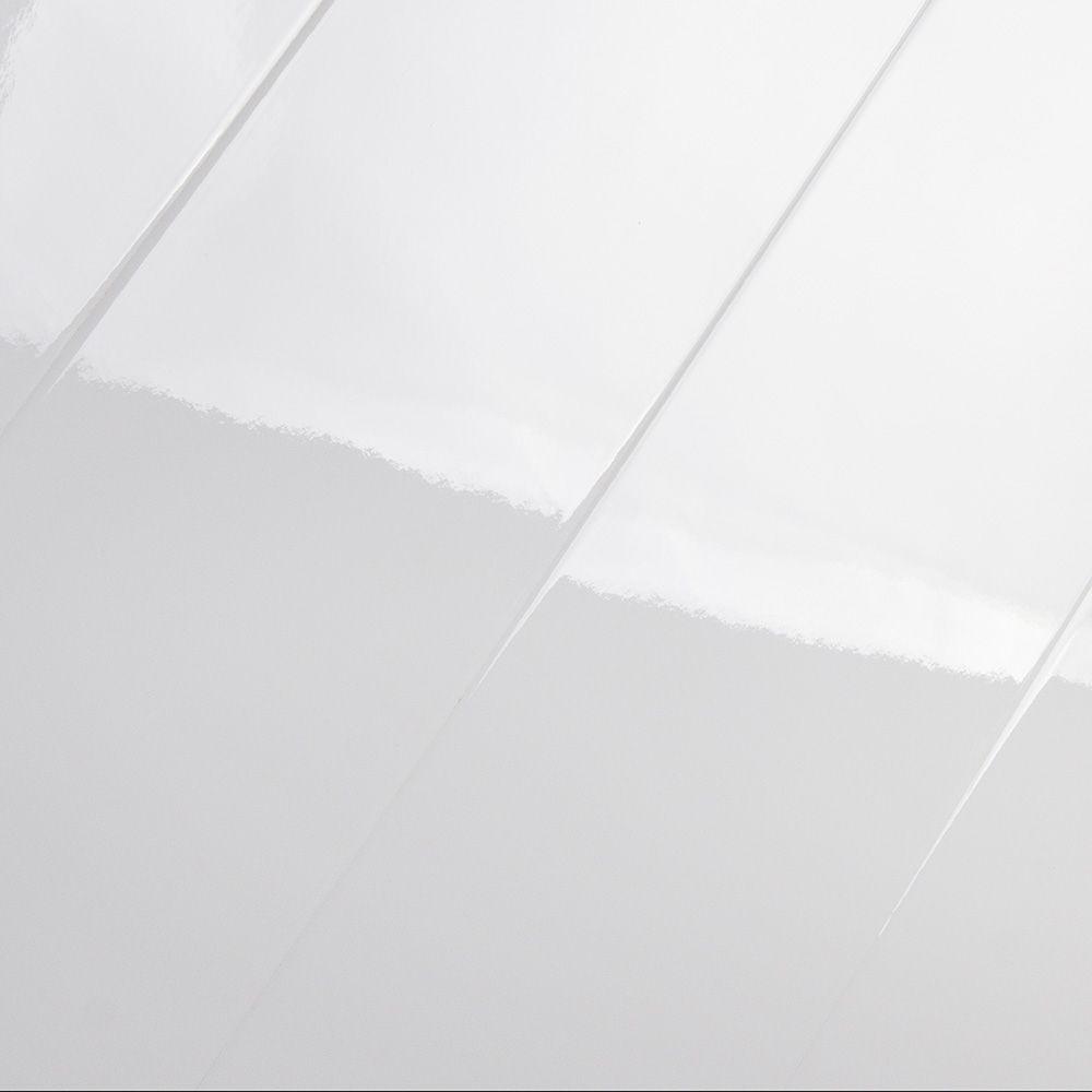 Elesgo Super Gloss Arctic White 8 7mm Laminate Flooring