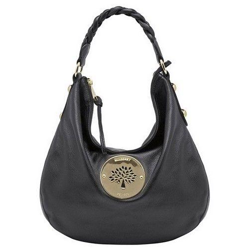 Fancy Mulberry Daria Medium Hobo Shoulder Bag Black £128.44 http ...
