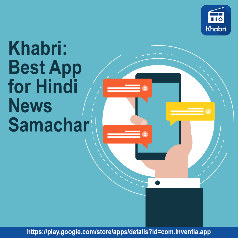 Download Khabri best app for hindi news samachar, On