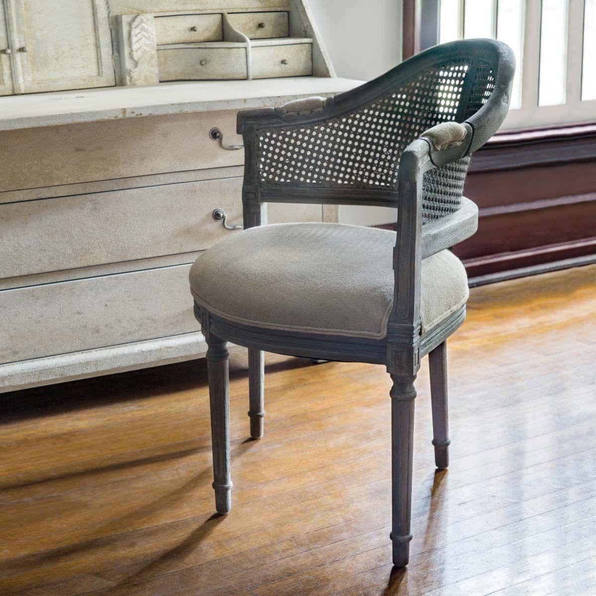 Cane back conversation chair farmhouse chairs accent