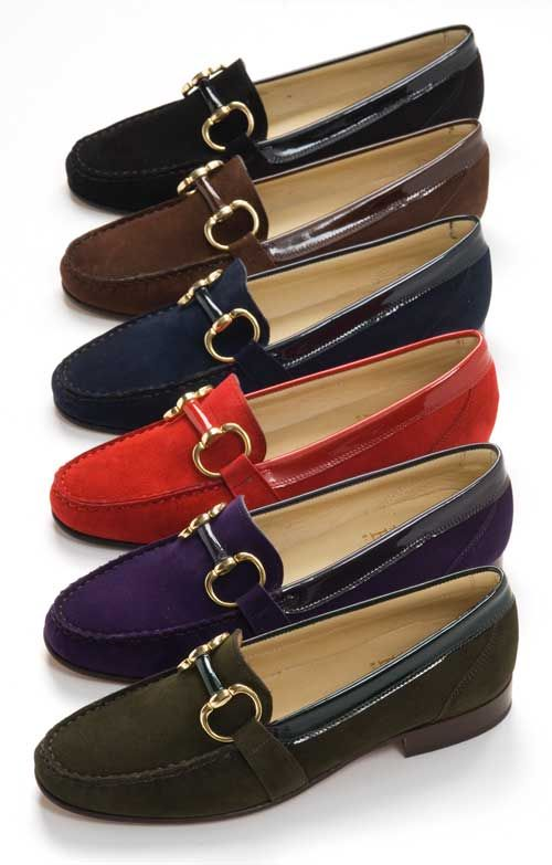 House of Bruar Ladies Suede and Patent