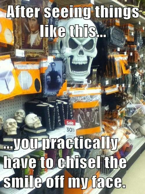 so true! facebook/HalloweenDecorations Halloween Tricks and