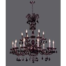 """View the Classic Lighting 82009- 42"""" Crystal Chandelier from the Monte Carlo Collection at LightingDirect.com."""