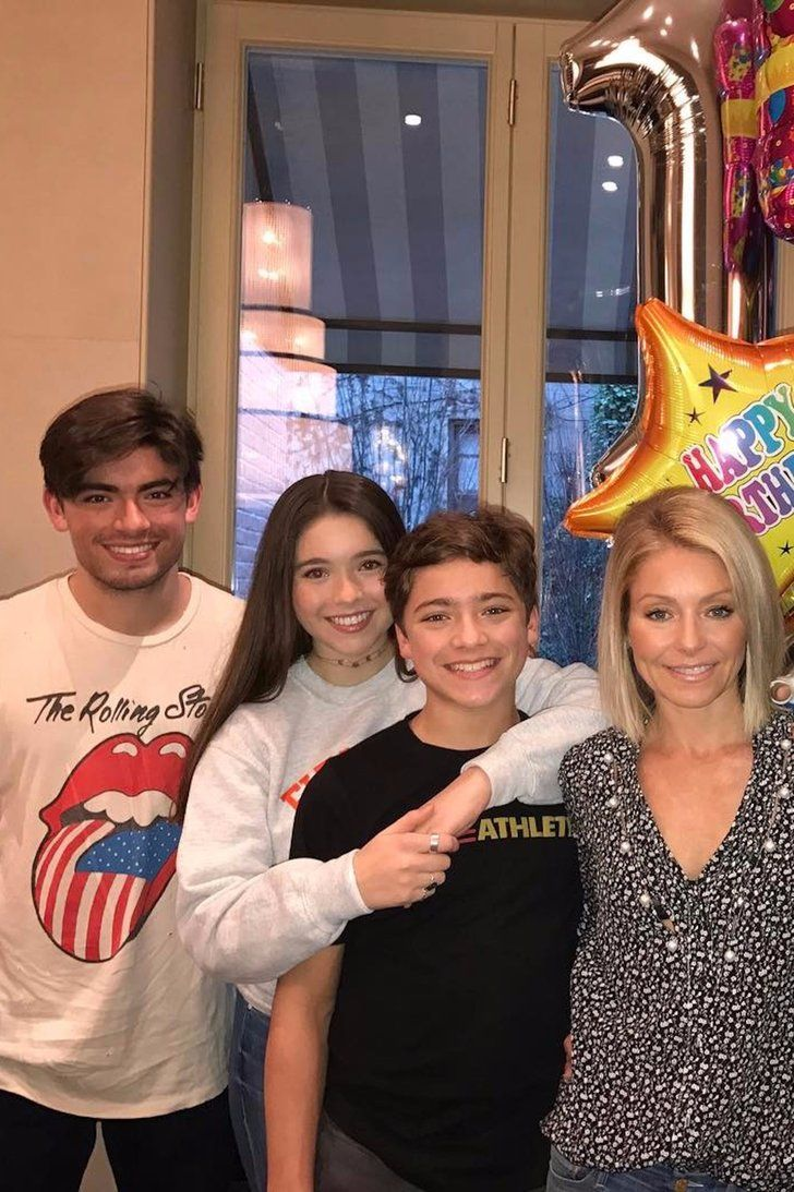 Kelly Ripa and Mark Consuelos Shower Son Joaquin With