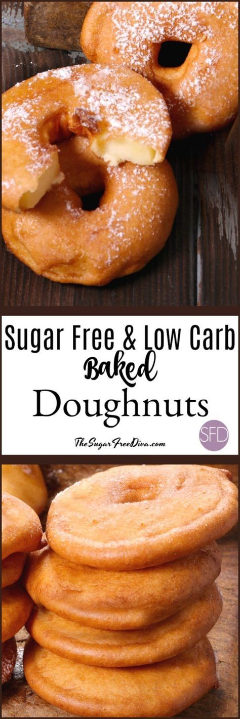This is how to make Sugar Free and Low Carb Baked Doughnuts