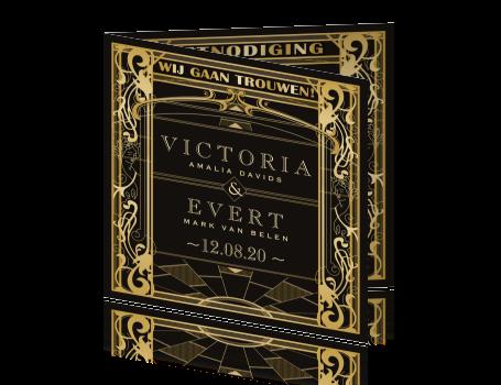 Art Deco Stijl : Great gatsby uitnodiging art deco stijl met roaring s thema