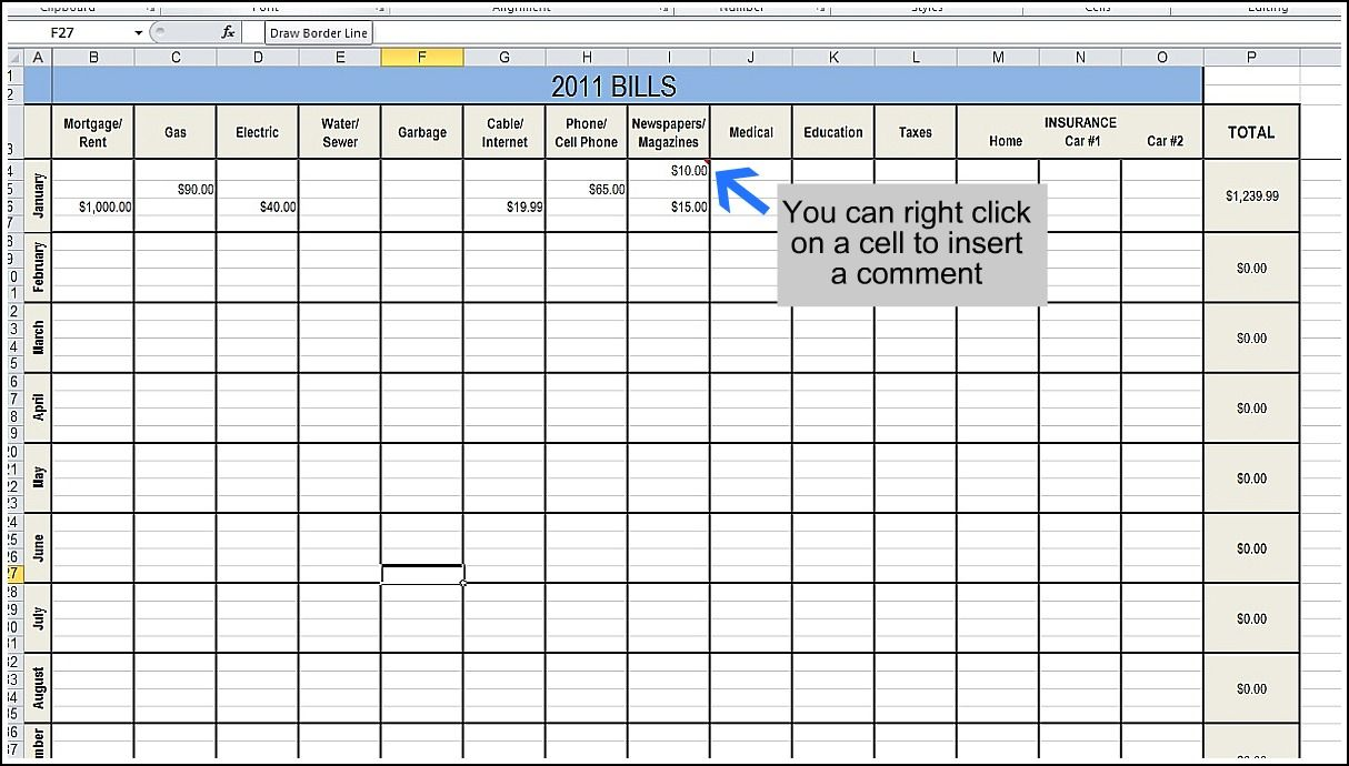I Need A Better Way To Budget And I Think I Like The Excel File