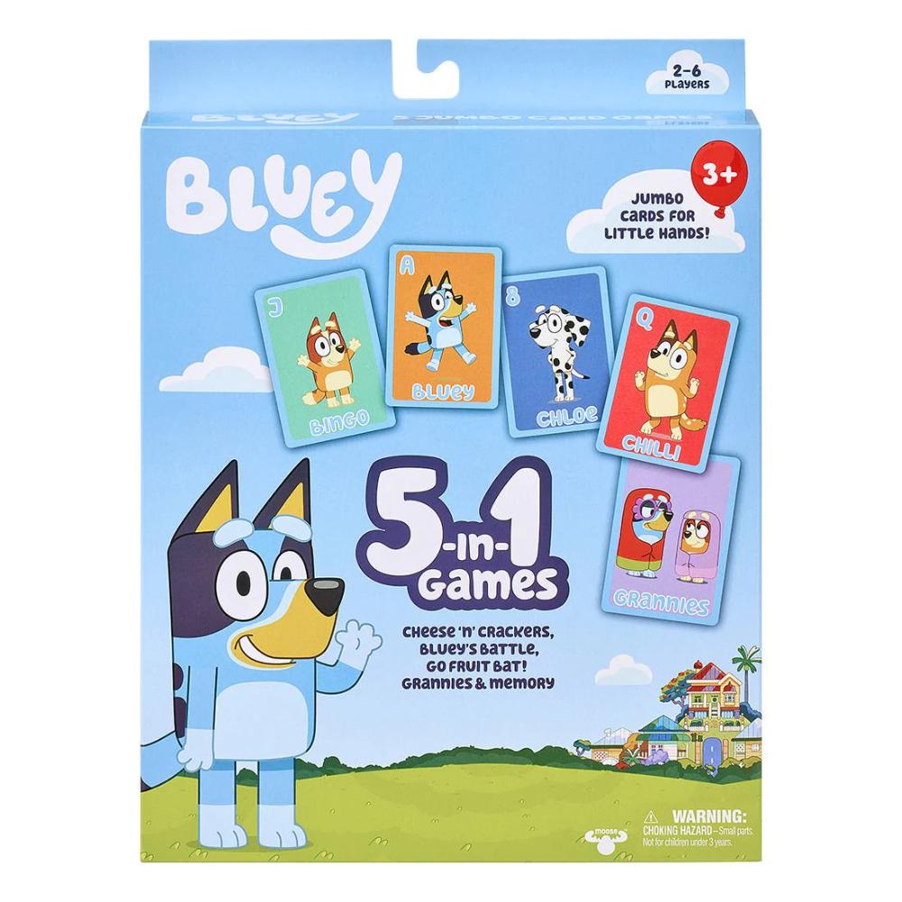 Bluey 5In1 Card Game Target Australia in 2020 Set