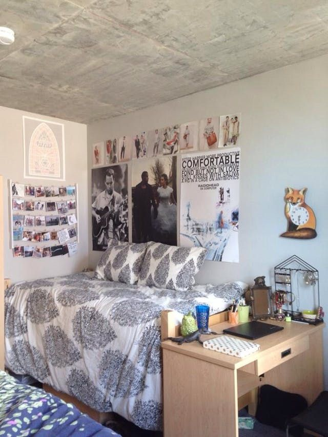 inspiration from 10 super stylish real dorm rooms home decor rh pinterest com