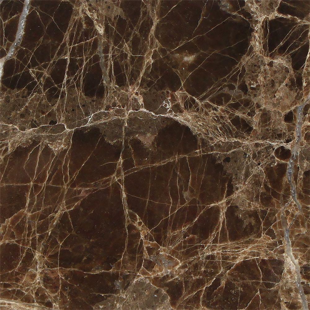 4 X 4 Polished Emperador Dark Marble Tile Sample In 2019