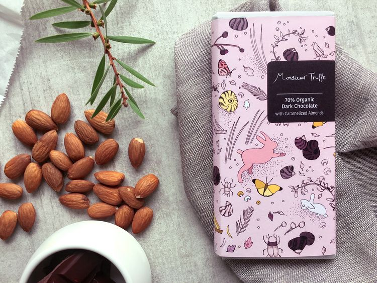 Chocolate Expression — The Dieline - Branding