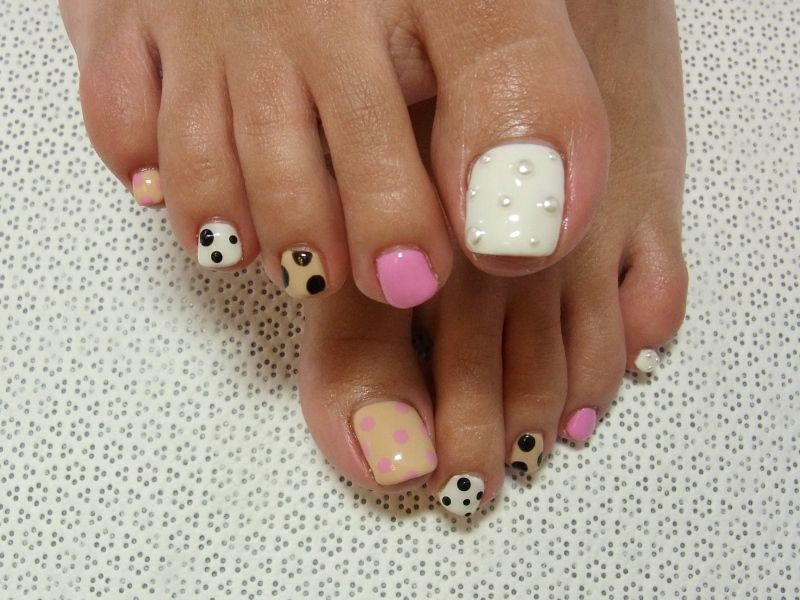 Stylish Pedicure Nail Art Designs For Summer 2012 Mani Pedi