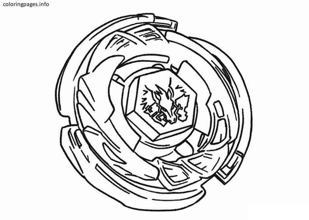 beyblade 06 Dibujos para colorear, Páginas para colorear