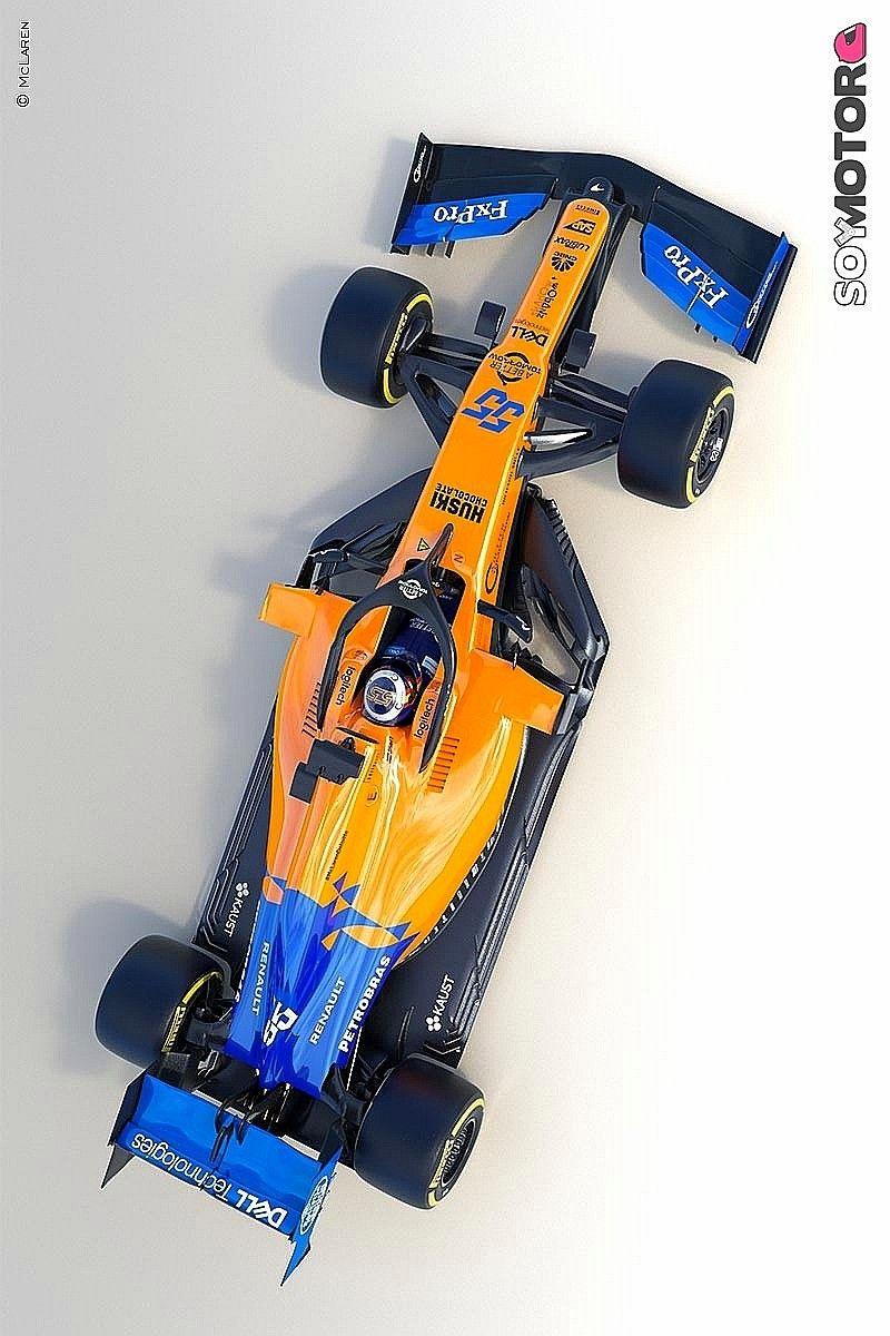 Mcl34 Mclaren F1 2019 Automobilismo Carros