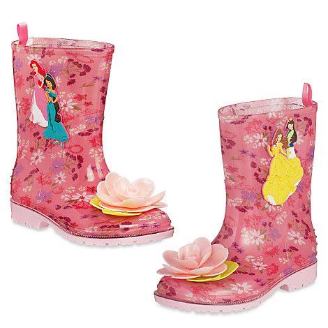 Disney Princess Rain Boots for Kids