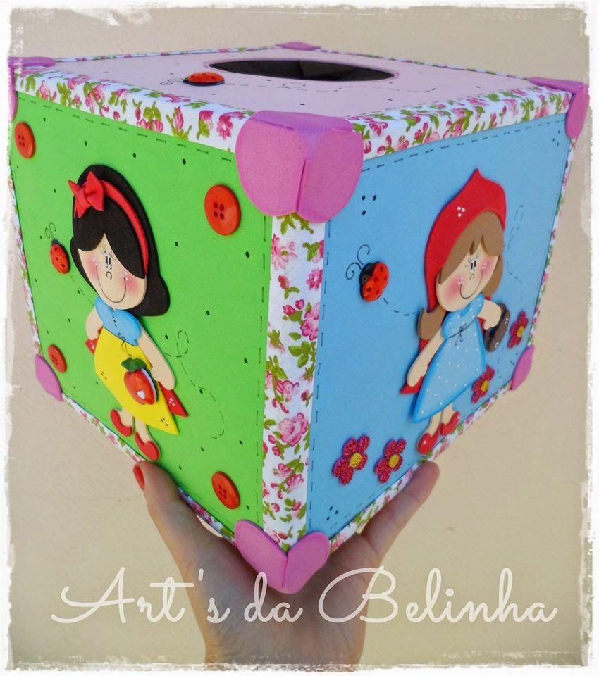 Art's da Belinha: {Caixa Mágica Era uma vez... ♥}
