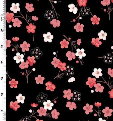 Sakura Cherry Blossom On Black Cherry Blossom Petals Cherry Blossom Wallpaper Japanese Cherry Blossom