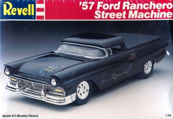 revell 57 ford ranchero street machine - 1972 Ford Ranchero Pro Street