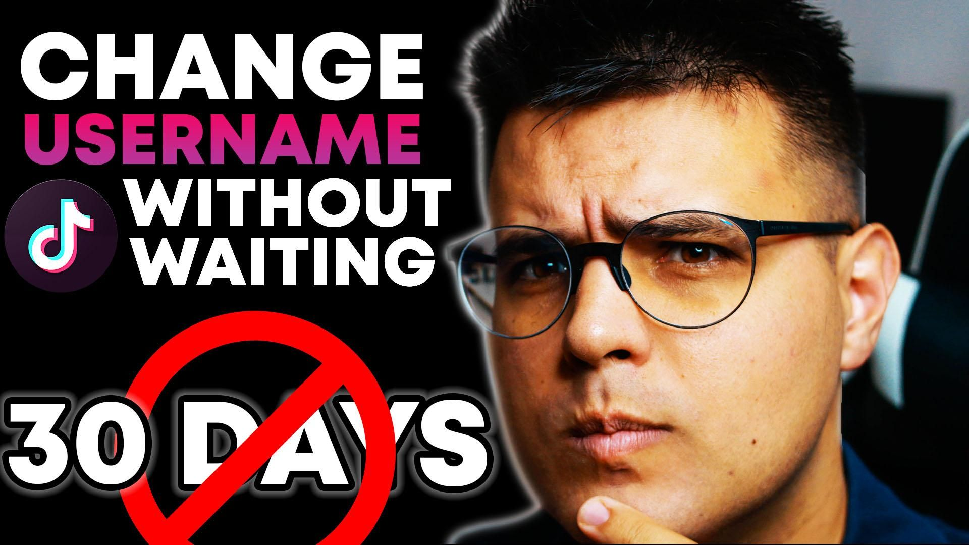 How To Change Tiktok Username Without Waiting 30 Days Change Username Tiktok In 2 Steps Video Social Media Waiting Change