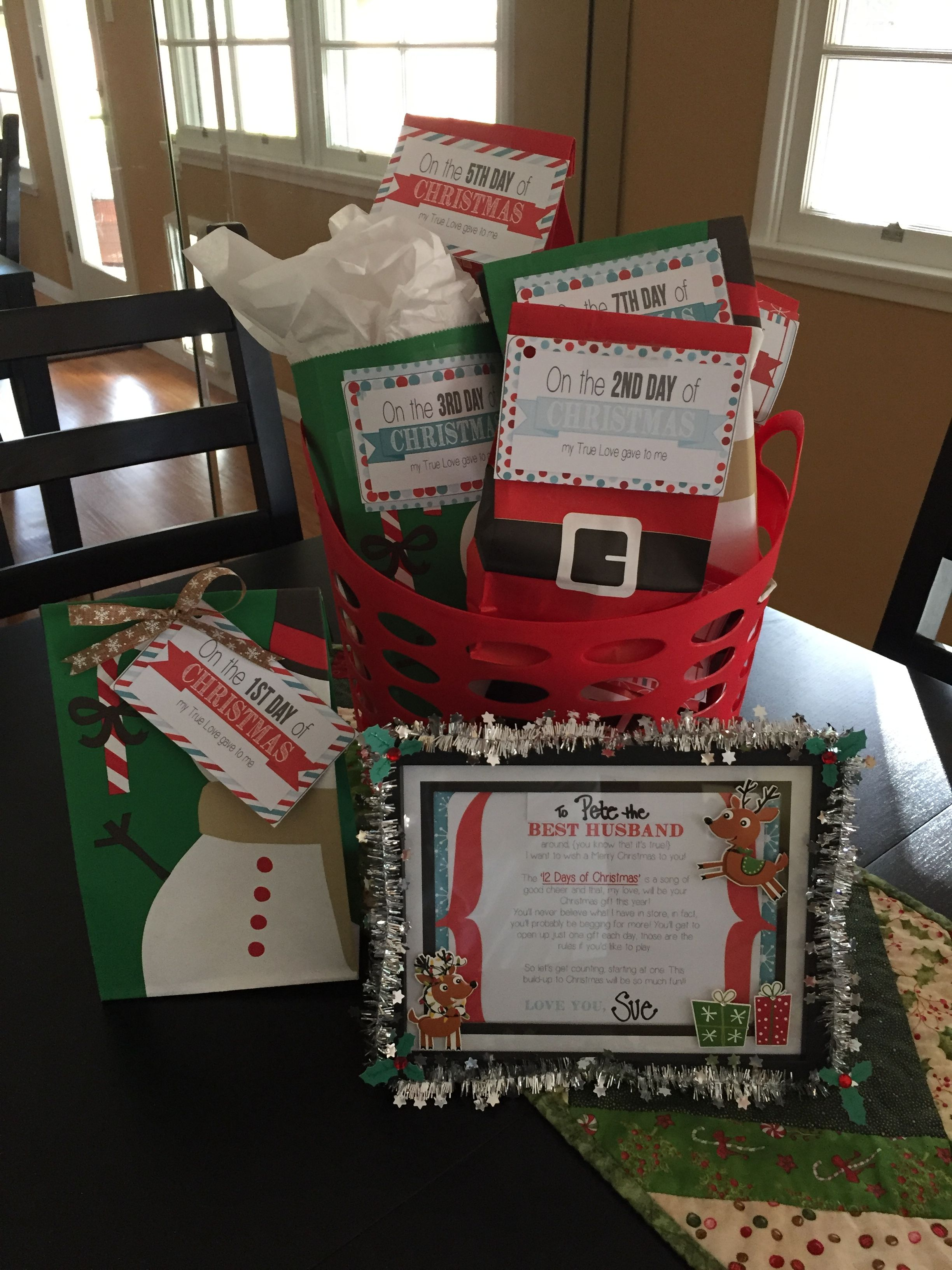 12 days of Christmas for my husband starts soon! | Frugal ...