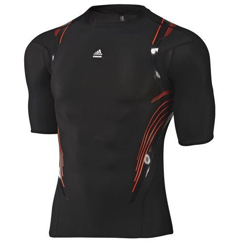 aafed97770426 Adidas TechFit Preparation Seasonal Compression Short Sleeve T-Shirt  picture 2
