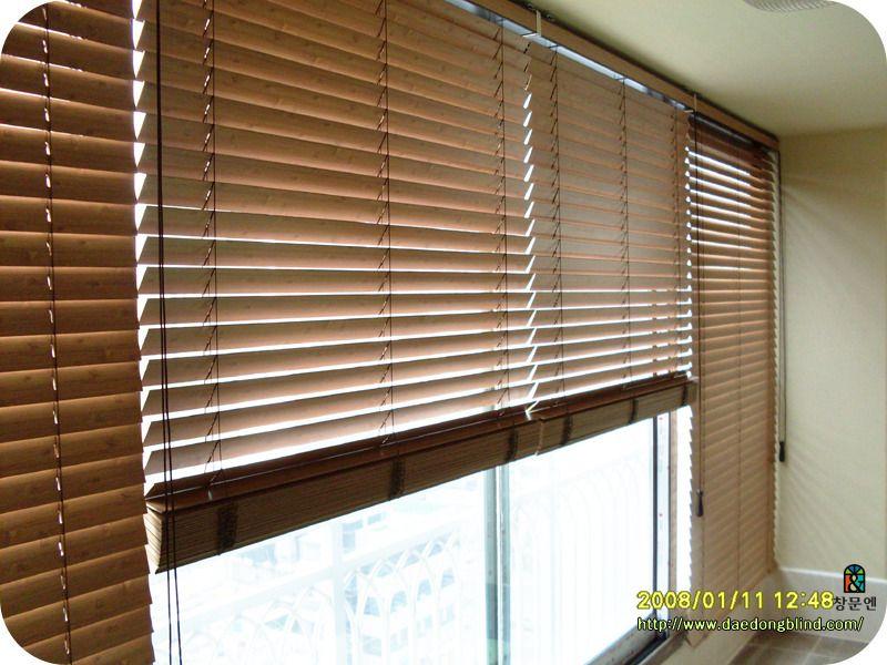 창문엔 블라인드 입니다 Blinds Decor Timber