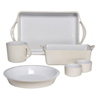 Giada De Laurentiis® for Target® 6-pc. Ceramic Bakeware Set. Only $34.99  sc 1 st  Pinterest & Giada De Laurentiis® for Target® 6-pc. Ceramic Bakeware Set. Only ...