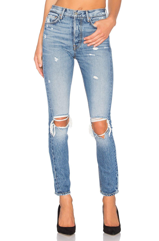 fff98f8911af GRLFRND Karolina High-Rise Skinny Jean in I Put A Spell On You ...
