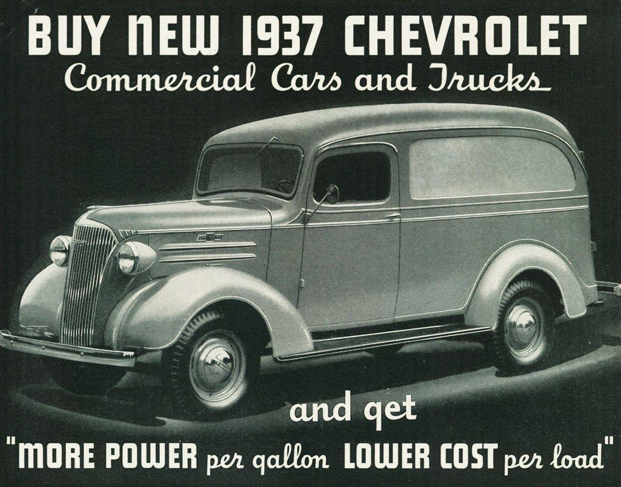 Directory Index Gm Trucks 1937 Chevrolet Trucks Panel Truck Chevrolet