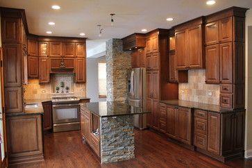 Eisenhour kitchen - transitional - Kitchen - Chicago - Creative Homes - Lake Zurich, IL