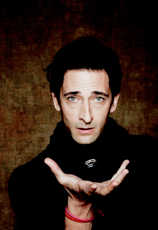 """adriensbrodyy: """" Adrien Brody for Bvlgari's STOP. THINK. GIVE. Campaign """""""