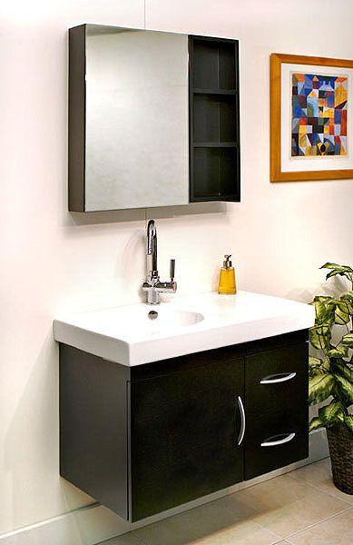 Aden Contemporary Bathroom Vanity SB-013 by SuperBath