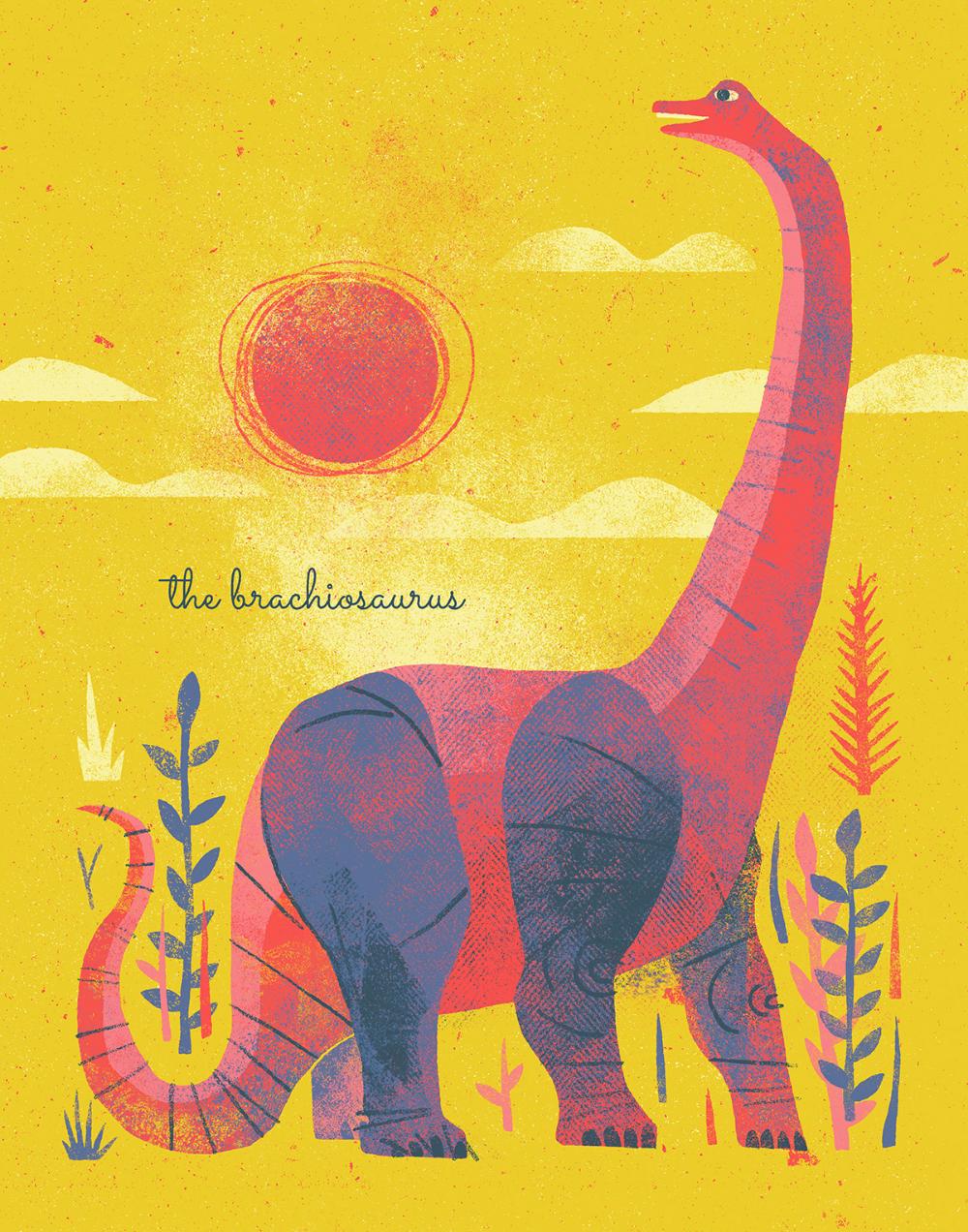 Dino Print Series