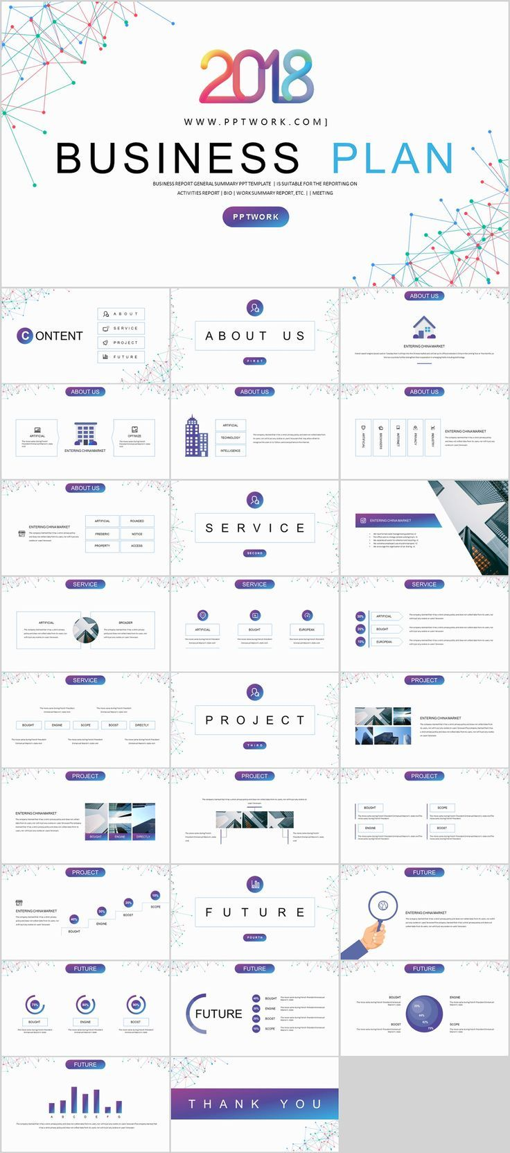 27+ Best business Plan Creative PowerPoint template on