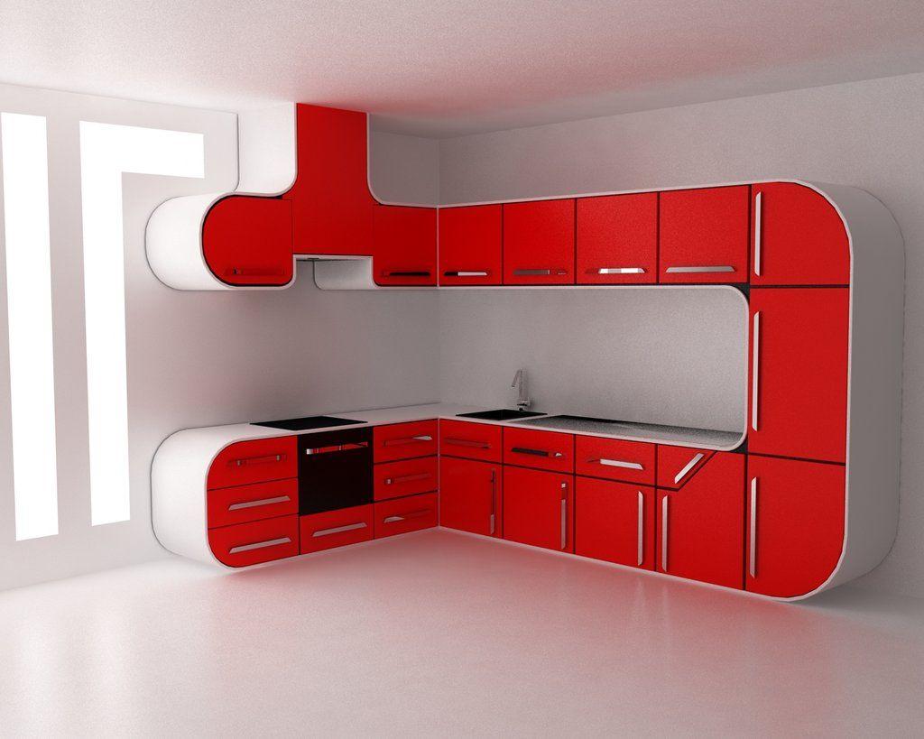 Cuisine Du Futur Sur La Decoration Hi Tech De Demain Kitchen Room Design Kitchen Furniture Design Kitchen Projects Design
