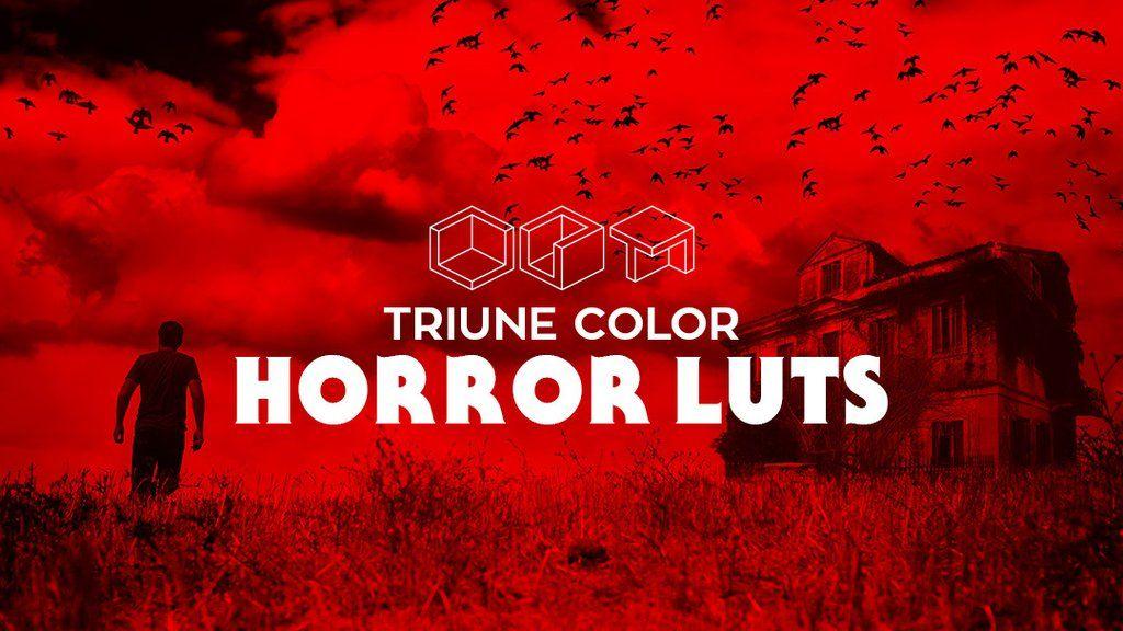 Triune Color: Horror LUTs | Digitial Downloads | Horror