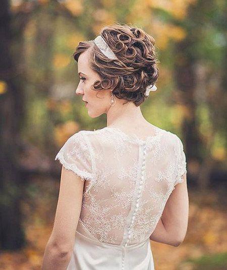 Latest Short Bridal Hairstyles Hair Short Wedding Hair Short