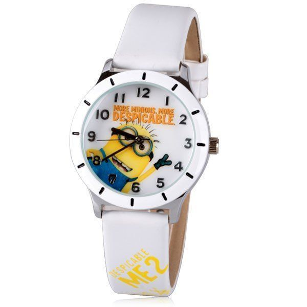 Cool Quartz Watch with Analog Indicate Minion Pattern Leather Watch Band for Women, WHITE in Women's Watches | DressLily.com #minionpattern Cool Quartz Watch with Analog Indicate Minion Pattern Leather Watch Band for Women, WHITE in Women's Watches | DressLily.com #minionpattern Cool Quartz Watch with Analog Indicate Minion Pattern Leather Watch Band for Women, WHITE in Women's Watches | DressLily.com #minionpattern Cool Quartz Watch with Analog Indicate Minion Pattern Leather Watch Band for Wom #minionpattern
