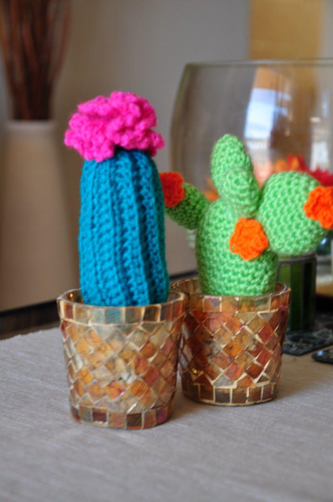 Amigurumi Cactus Tejiendo Peru : A blue Cactus, love it! Pattern by Tejiendo Peru, in ...