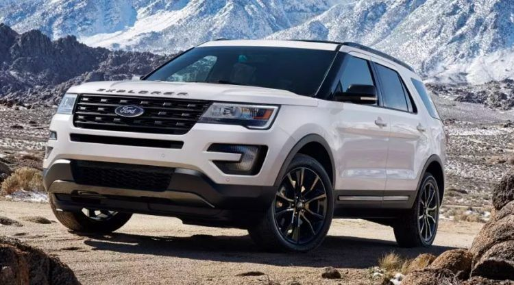 Die Top Ten Ford Modelle von 2017 Ford explorer, Ford